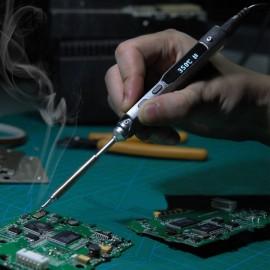 TS100 65W Digital OLED Programmable Soldering Iron Set TS-KU