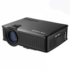Owlenz SD50 Plus LED 1080P 1500 Lumens Home Theater HDMI/VGA/USB/AV/SD