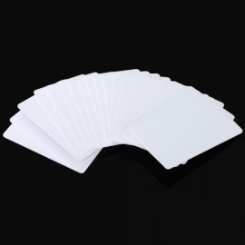 20pcs Writable Readable 125KHz ID Cards Copy Cards for Copier Access Control White