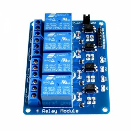5V 4-Channel Relay Module for Arduino PIC ARM DSP AVR MSP430
