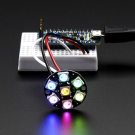 7 Bit WS2812 5050 RGB LED Driver Development Board