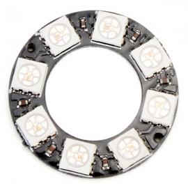 8 Bit WS2812 5050 RGB LED Circular Driver Development Board