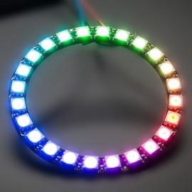 24 Bit WS2812 5050 RGB LED Driver Development Board