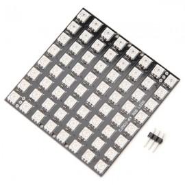 64 Bit WS2812 5050 RGB LED Driver Development Board