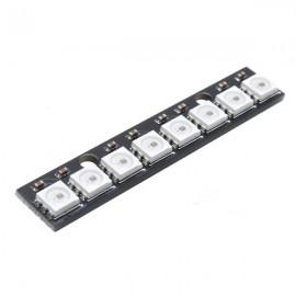 8 Bit WS2812 5050 RGB LED Driver Development Board - Black