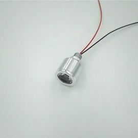 5VLED Lamp Small DIY Thumb Lamp Interface Highlight Model 3.7V Battery Bulb - Warm White