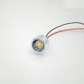 5VLED Lamp Small DIY Thumb Lamp Interface Highlight Model 3.7V Battery Bulb - Green