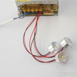 5VLED Lamp Small DIY Thumb Lamp Interface Highlight Model 3.7V Battery Bulb - Yellow