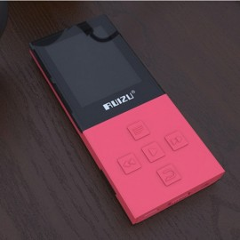 RUIZU X18 8GB High Quality Lossless Recorder FM Wireless Bluetooth 4.0 Sport MP3 Player Red
