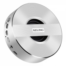 KELING A5 Wireless V4.0 1000mAh Portable Subwoofer - Silver
