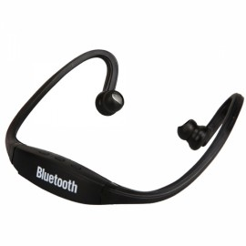 Sport Headset Headphone with Bluetooth Function Black