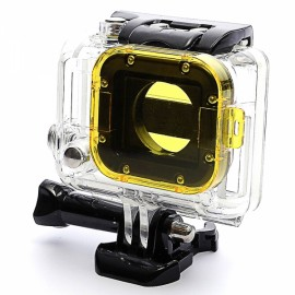 JUSTONE J032 Professional Diving Housing Filter for GoPro Hero 3 Yellow