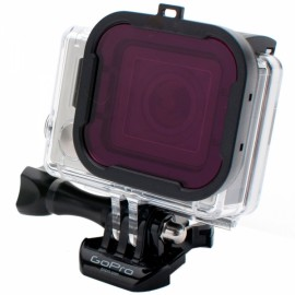 58mm Professional Underwater Dive Filter Converter for GoPro Hero 3 + Black & Purple