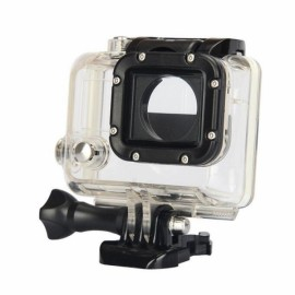 Kingma 60M Diving External Backup Waterproof Cover Case Housing for Xiaomi Xiaoyi Yi Action Sports Camera Black