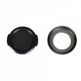 KingMa 37mm UV Filter Lens + Lens Cover Set Black
