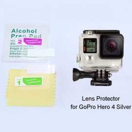 Practical Screen Protective Film for GoPro Hero 4 Silver