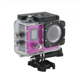 K1 4K WiFi Sports Camera 720P Mini Recorder - Rose Red