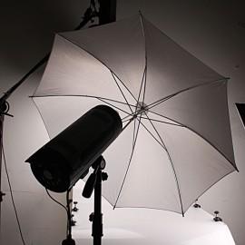 33Inch Studio Flash Translucent White Soft Umbrella