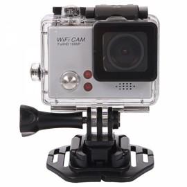 "F58 1.5"" 1080P HD LCD 480 x 240 120-Degree Wide Angle Lens Waterproof Movement DV Silver"