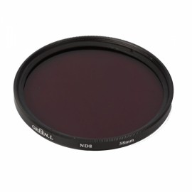 58mm Neutral Density ND8 Filter for Canon Nikon