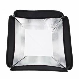 50* 50 S-Shaped Flash Lamp Bracket Mount Stand Kit Black