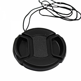 52mm Center Pinch Snap on Front Cap for Lens Filter