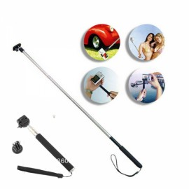 Handheld Monopod with Tripod Bottom Mount for GoPro 3+/3/2/1/ Black