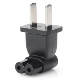 2.5A / 250V 2P Travel Plug Adapter for Laptop Digital Camera Black (US Standard)