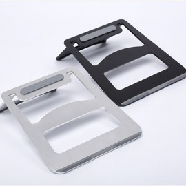 Aluminum Alloy Hybrid Laptop Stand Cooling Pad for Notebook/MacBook Black