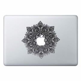 "Arabic Mandala Leaves Removable Vinyl MacBook Decal Sticker Skin with Precision-Cut for Apple MacBook Air 13.3"""