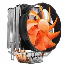 Pccooler S90F 4 Pin 4 Copper Heat Pipes LED CPU Cooler Cooling Fan Heatsink for Intel LGA775 AMD AM2