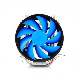 Deepcool 4Pins 12cm Blue CPU Cooling Fan for LGA 1155/1156/ 1150/ 775 AMD