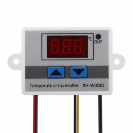 24V 240W 10A LED Digital Temperature Controller Thermostat Switch Probe