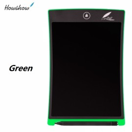 """Howshow 8.5"""" E-Note Paperless LCD Writing Tablet Office Family School Drawing Graffiti Toy Gift Green"""
