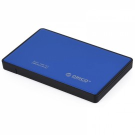 ORICO 2588US3 Ultra-thin 2.5 Inch USB 3.0 eSATA External Hard Disk HDD External Enclosure Blue
