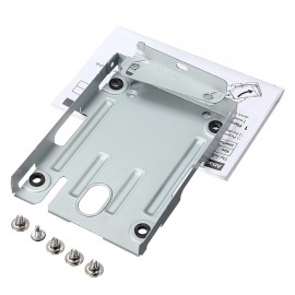 2.5 Inches HDD Hard Disk Drive Mounting Bracket for PS3 Silver