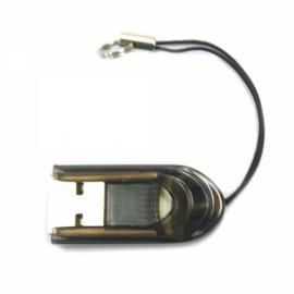 USB 2.0 Micro SD/TF Memory Card Reader Black