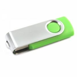 4GB Rotate USB Flash Drive Grass Green