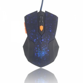 2050 Practical USB 172CM 6 Buttons Gaming Wired Mouse Blue