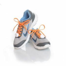 Nylon LED Shoelaces Flat Luminous Shoelace for Sneakers Orange