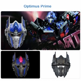 Halloween Costumes LED Light Optimus Prime Mask