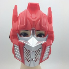 Hot Halloween Masquerade Party Face Mask Red Transformer Mask