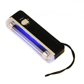 2 in 1 UV Black Light Torch Portable Fake Money Cash Detector