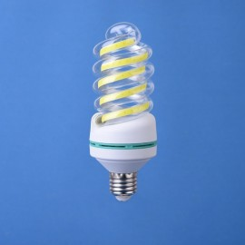 E27 5W LED Bulb COB Spiral Shape White Energy Saving Corn Light Lamp (AC85-265V)