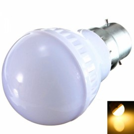 B22 3W 9 LED 2835SMD 2800-3200K Warm White Light LED Light Bulb (220V)