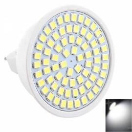MR16 7W 72x2835SMD LED 6000-6500K White High Brightness LED Light (AC 10-30V)