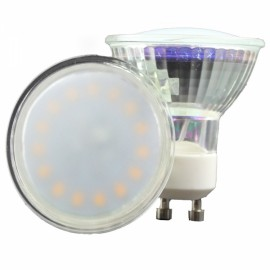 GU10 3W 15-LED SMD2835 2700-3200K Warm White Light 120-Degree Beam Angle Economical LED Light Bulb (AC 220-240V)