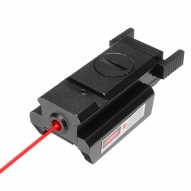 Low Profile Red Laser Sight Beam Dot Sight Scope Tactical Picatinny 20mm Rail Mount