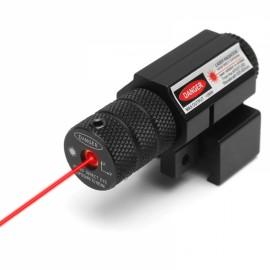 Tactical Red Dot Laser Sight Pistol Scope 20-100M w/ Picatinny Rail Mount