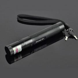 301 1mW 532nm Green Beam Light Single-point Laser Pointer Pen Black